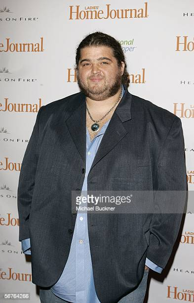Actor Jorge Garcia arrives at Ladies' Home Journal's Funny Ladies We Love at the Cabana Club on February 6 2006 in Los Angeles California