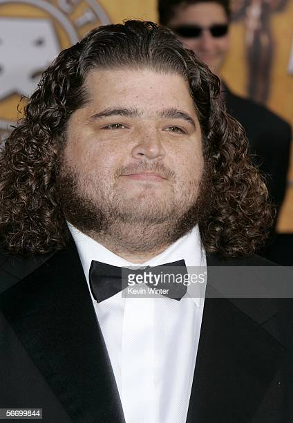 Actor Jorge Garcia arrives at the 12th Annual Screen Actors Guild Awards held at the Shrine Auditorium on January 29 2006 in Los Angeles California