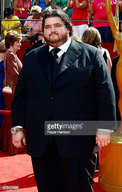 Actor Jorge Garcia arrives at the 60th Primetime Emmy Awards held at Nokia Theatre on September 21 2008 in Los Angeles California