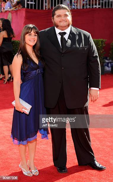 Actor Jorge Garcia arrives at the 61st Primetime Emmy Awards held at the Nokia Theatre on September 20 2009 in Los Angeles California