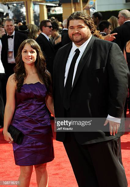 Actor Jorge Garcia arrives at the 62nd Annual Primetime Emmy Awards held at the Nokia Theatre LA Live on August 29 2010 in Los Angeles California