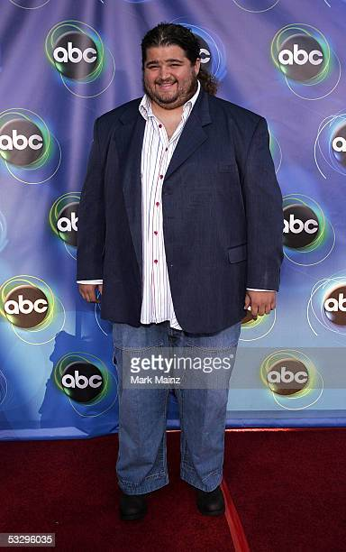 Actor Jorge Garcia arrives at the ABC TCA party at the Abby on July 27 2005 in West Hollywood California