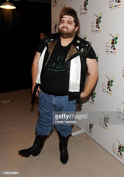 Actor Jorge Garcia arrives at The Rocky Horror Picture Show 35th anniversary to benefit The Painted Turtle at The Wiltern on October 28 2010 in Los...
