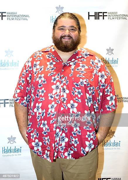 Actor Jorge Garcia arrives for the world premiere of 'Pali Road' at the 2015 Hawaii International Film Festival on November 16, 2015 in Honolulu,...