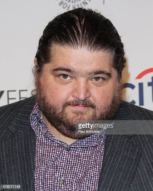Actor Jorge Garcia attends 2014 PaleyFest Lost 10th anniversary reunion at the Dolby Theatre on March 16 2014 in Hollywood California