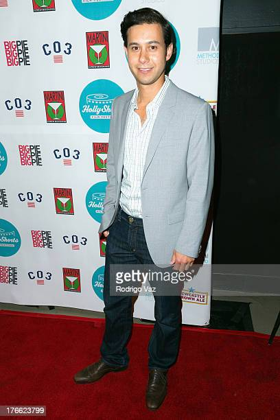 Actor Jorge Garcia attends the 9th Annual HollyShorts Film Festival Opening Night Arrivals at TCL Chinese Theatre on August 15 2013 in Hollywood...