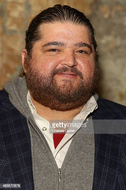 Actor Jorge Garcia attends the Day For Night Video Lounge at Huffington Post In ChefDance Space on January 18 2014 in Park City Utah
