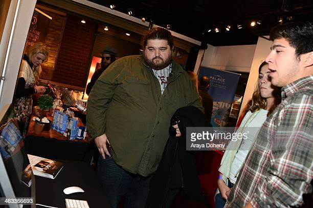 Actor Jorge Garcia attends the Kari Feinstein Style Lounge on January 17 2014 in Park City Utah