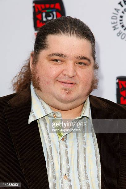 Actor Jorge Garcia attends the Paley Center's opening of Television Out Of The Box at The Paley Center for Media on April 12 2012 in Beverly Hills...