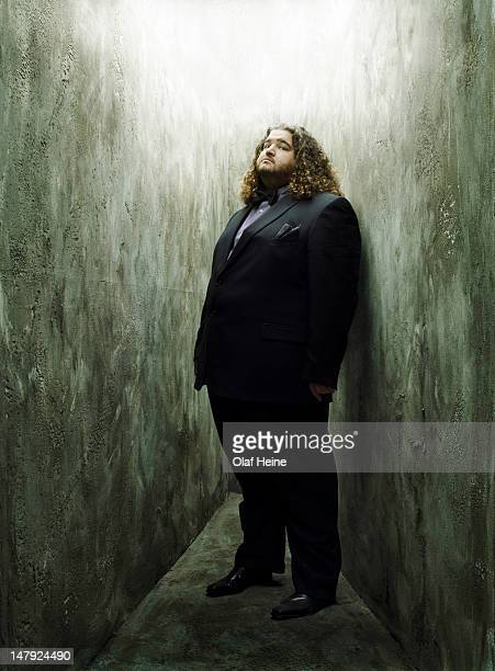 Actor Jorge Garcia is photographed on October 27 2007 in Los Angeles California