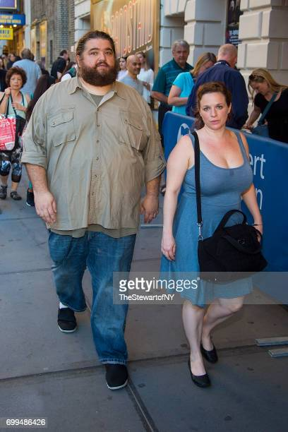 Actor Jorge Garcia is seen in Midtown on June 21 2017 in New York City