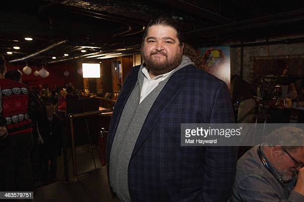 Actor Jorge Garcia poses at the Canon Craft Services lounge during the Sundance Film Festival on January 18 2014 in Park City Utah