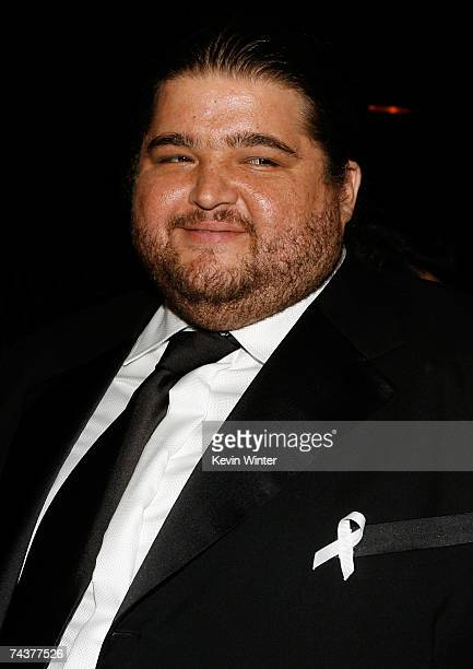 APPLIES*** Actor Jorge Garcia poses in the audience during the 2007 NCLR ALMA Awards held at the Pasadena Civic Auditorium on June 1 2007 in Pasadena...