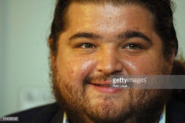 Actor Jorge Garcia promotes the new McFarlane Toys Lost figures at Toys R Us on November 6 2006 in New York City