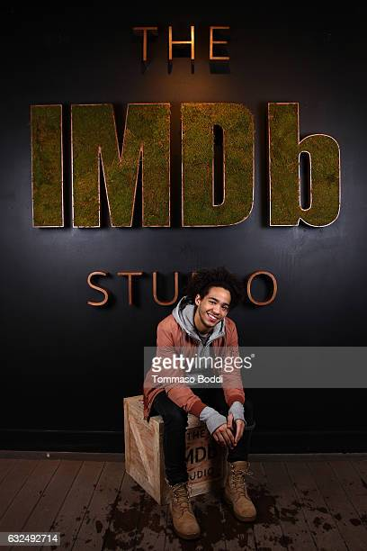 Actor Jorge Lendeborg Jr of Brigsby Bear attends The IMDb Studio featuring the Filmmaker Discovery Lounge presented by Amazon Video Direct Day Four...