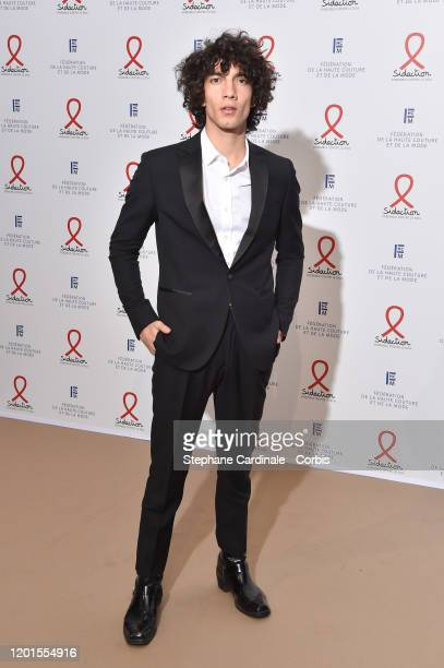 Actor Jorge Lopez attends Sidaction Gala Dinner 2020 At Pavillon Cambon on January 23, 2020 in Paris, France.