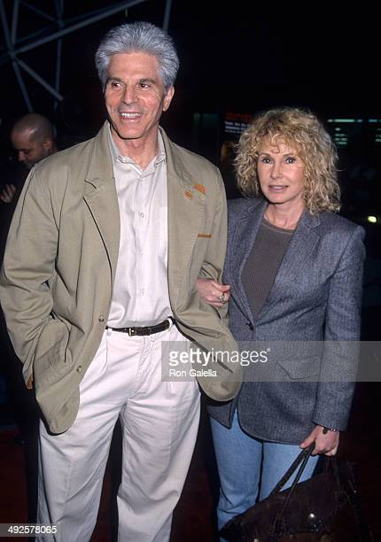 Actor Jorge Rivero and wife Betty Moran attend the Amores Perros Hollywood Premiere on March 27 2001 at GCC Galaxy 6 Theatres in Hollywood California