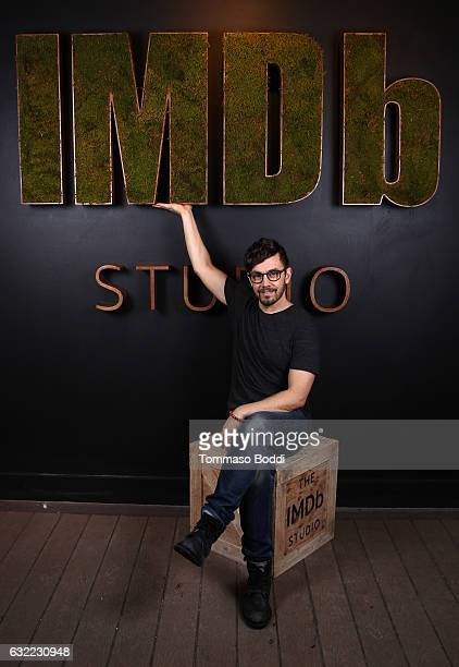 Actor Jorma Taccone of 'LA Times' attend The IMDb Studio featuring the Filmmaker Discovery Lounge presented by Amazon Video Direct Day One during The...
