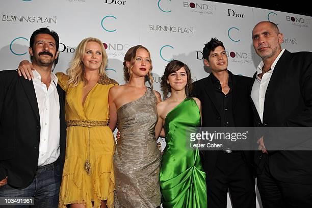 Actor José María Yazpik actress Charlize Theron actress Jennifer Lawrence actress Tessa Ia actor JD Pardo and writer/director Guillermo Arriaga...
