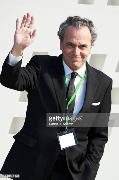 Actor Jose Coronado attends the Gold Medals of Merit in Fine Arts 2016 ceremony at the Pompidou Center on February 6 2018 in Malaga Spain