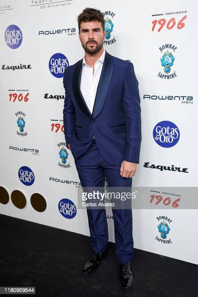 Actor Jose de la Torre attends 'Hombres Esquire' 2019 awards at Kapital Club on October 10 2019 in Madrid Spain
