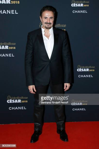 Actor Jose Garcia attends the 'Cesar Revelations 2018' Party at Le Petit Palais on January 15 2018 in Paris France