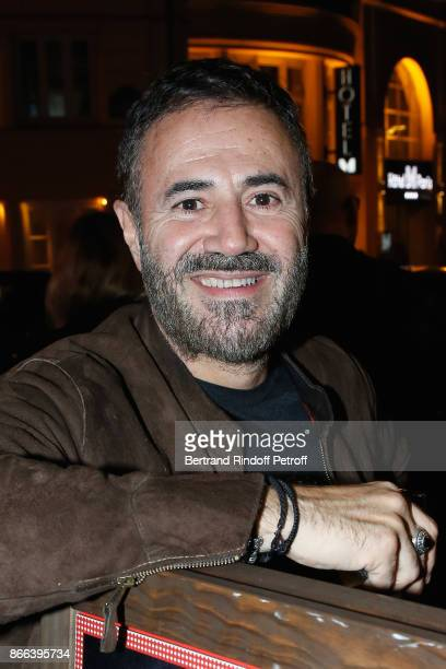 Actor Jose Garcia attends the 'Novecento' 200th Performance at Theatre Montparnasse on October 25 2017 in Paris France