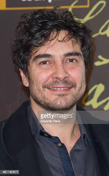 Actor Jose Manuel Seda attends 'La puta enamorada' photocall at Fernando Fernan Gomez theatre on January 8 2015 in Madrid Spain