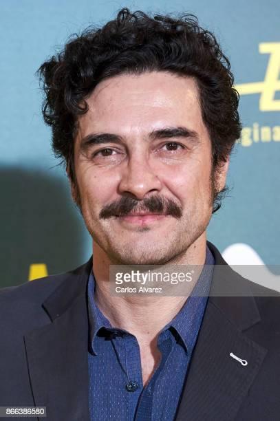 Actor Jose Manuel Seda attends 'La Zona' premiere at the Capitol cinema on October 25 2017 in Madrid Spain