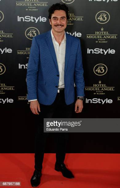 Actor Jose Manuel Seda attends the 'El Jardin del Miguel Angel' party photocall at Miguel Angel hotel on May 24 2017 in Madrid Spain