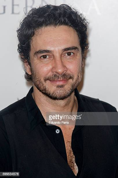 Actor Jose Manuel Seda attends the 'Gernika' premiere at Palafox cinema on September 5 2016 in Madrid Spain