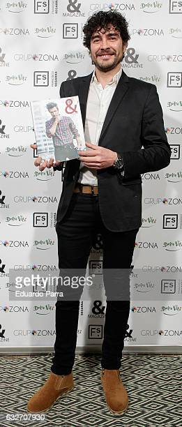 Actor Jose Manuel Seda attends the ' Magazine' party photocall at Segarra store on January 25 2017 in Madrid Spain