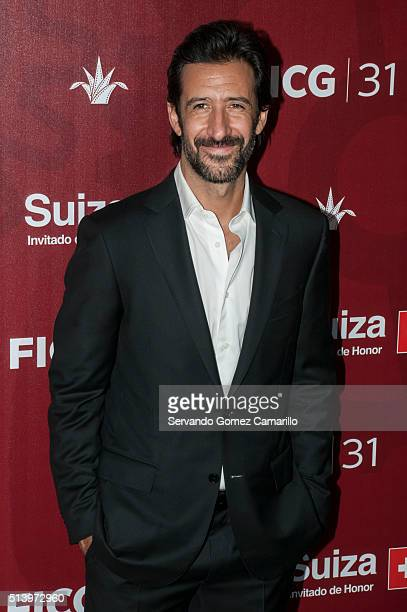 Actor Jose Maria Yazpik attends the red carpet of the movie Mr Pig at Diana Theater on March 05 2016 in Guadalajara Mexico
