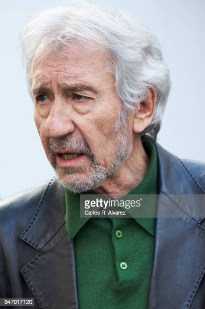 Actor Jose Sacristan attends 'Un Hombre Llamado Flor de Otono' Gold Film award photocall during the 21th Malaga Film Festival at the Picasso Museum...