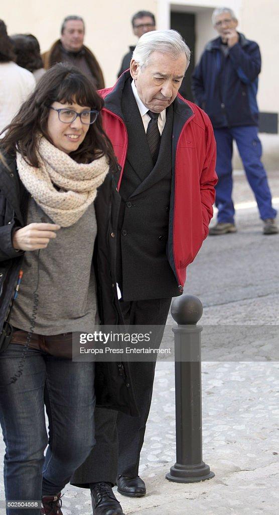 Set Filming of 'Galerias Velvet' In Madrid : News Photo