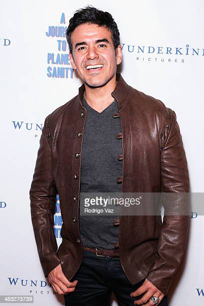 Actor Jose Yenque attends 'A Journey To Planet Sanity' Los Angeles Premiere at Laemmle Monica 4Plex on December 2 2013 in Santa Monica California
