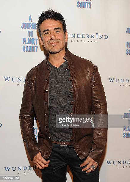 Actor Jose Yenque attends the Los Angeles Premiere of A Journey To Planet Sanity at the Laemmle Monica 4Plex on December 2 2013 in Santa Monica...