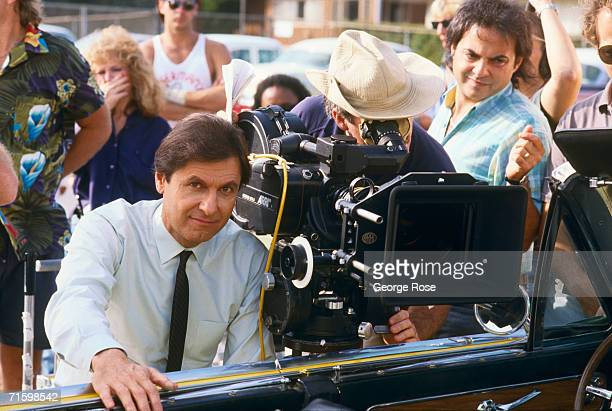 """Actor Joseph Bologna poses during the 1987 West Hollywood, California, filming of TV's """"Rags to Riches."""" Married to actress Renee Taylor, Bologna..."""
