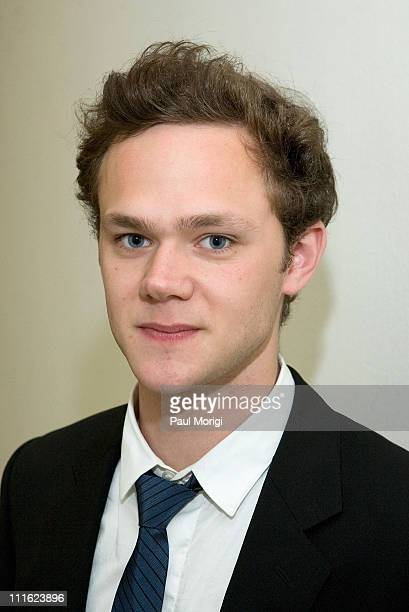 Actor Joseph Cross poses for a photo at a Stigma of Mental Illness among Veterans and Public Congressional Briefing on May 22 2008 at the Rayburn...