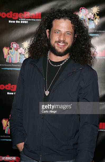 Actor Joseph D Reitman attends Dodgeball The Celebrity Tournament to benefit the Elizabeth Glaser Pediatric Aids Foundation and celebrate the DVD...