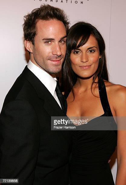 Actor Joseph Fiennes and Maria Dolores arrive at the world premiere of Tristar Picture's Running With Scissors at the Academy of Motion Picture Arts...