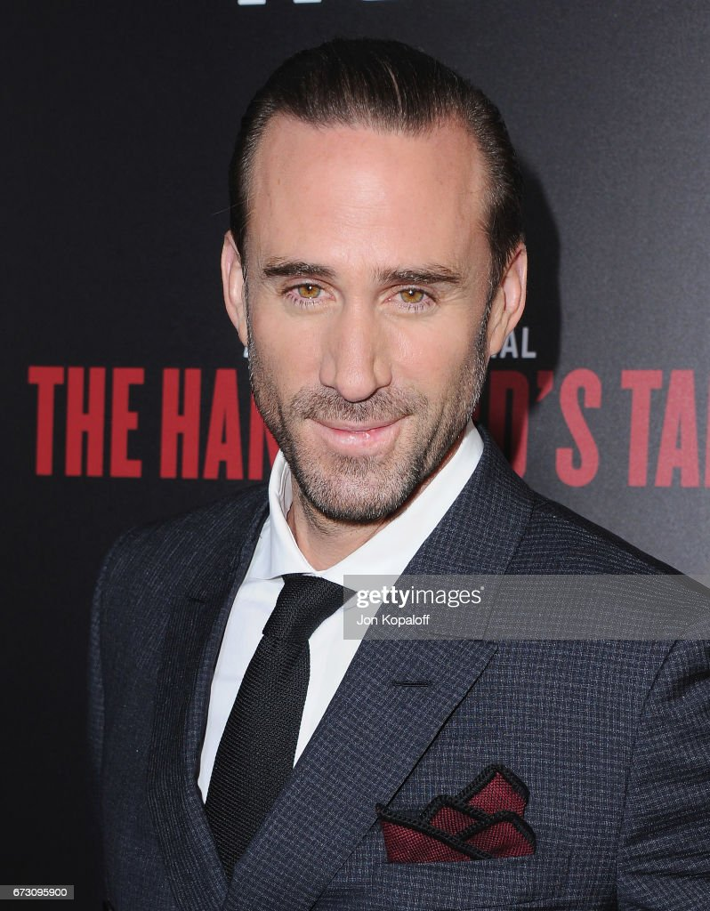 Actor Joseph Fiennes arrives at the premiere of Hulu's 'The Handmaid's Tale' at ArcLight Cinemas Cinerama Dome on April 25, 2017 in Hollywood, California.