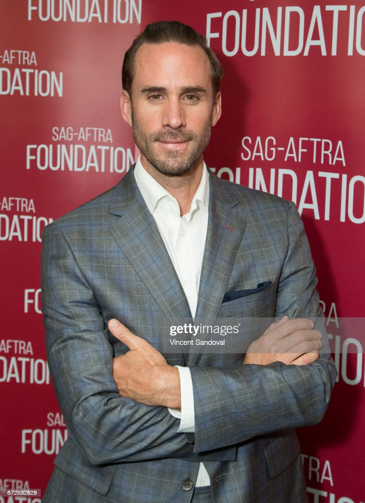Actor Joseph Fiennes attends SAG-AFTRA Foundation Conversations with 'The Handmaid's Tale' at SAG-AFTRA Foundation Screening Room on April 24, 2017 in Los Angeles, California.