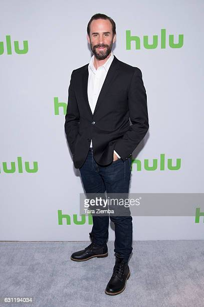 Actor Joseph Fiennes attends the 2017 Hulu Television Critics Association winter press tour at Langham Hotel on January 7 2017 in Pasadena California
