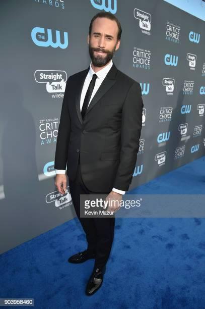 Actor Joseph Fiennes attends The 23rd Annual Critics' Choice Awards at Barker Hangar on January 11 2018 in Santa Monica California