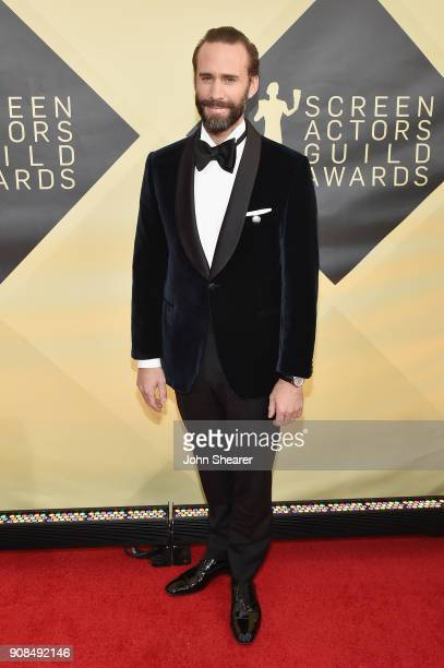 Actor Joseph Fiennes attends the 24th Annual Screen Actors Guild Awards at The Shrine Auditorium on January 21 2018 in Los Angeles California