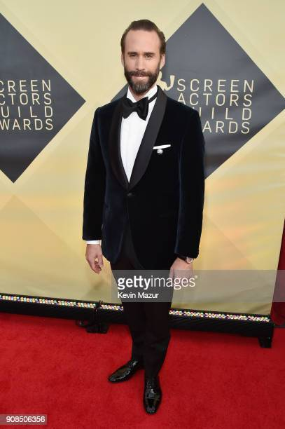 Actor Joseph Fiennes attends the 24th Annual Screen Actors Guild Awards at The Shrine Auditorium on January 21 2018 in Los Angeles California...