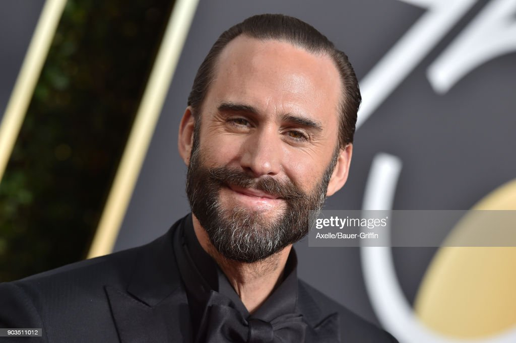 Actor Joseph Fiennes attends the 75th Annual Golden Globe Awards at The Beverly Hilton Hotel on January 7, 2018 in Beverly Hills, California.