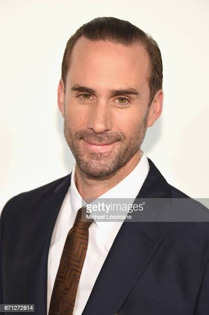 Actor Joseph Fiennes attends 'The Handmaid's Tale' Premiere at BMCC Tribeca PAC on April 21 2017 in New York City