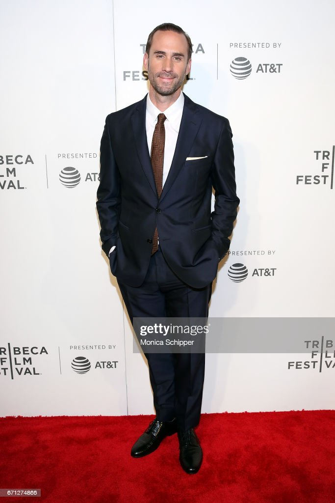Actor Joseph Fiennes attends the premiere of 'The Handmaid's Tale' during Tribeca Film Festival at BMCC Tribeca PAC on April 21, 2017 in New York City.